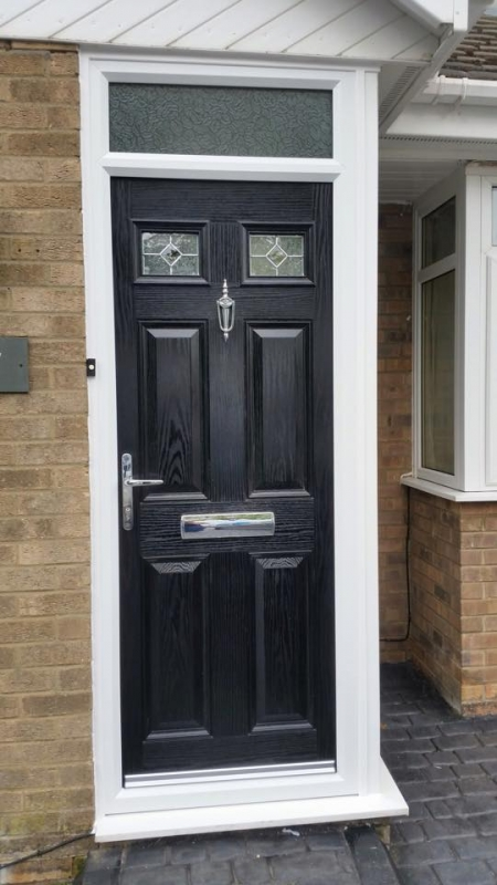 New composite door in west monkseaton excel north east for Front door north tyneside