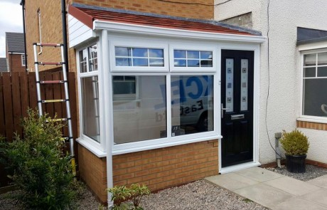New Porch Extension in Blaydon, Gateshead, Tyne & Wear