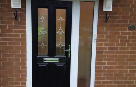 Composite Door In North Tyneside + Glass Side Panel