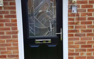 New composite door in Shiremoor Earsdon view