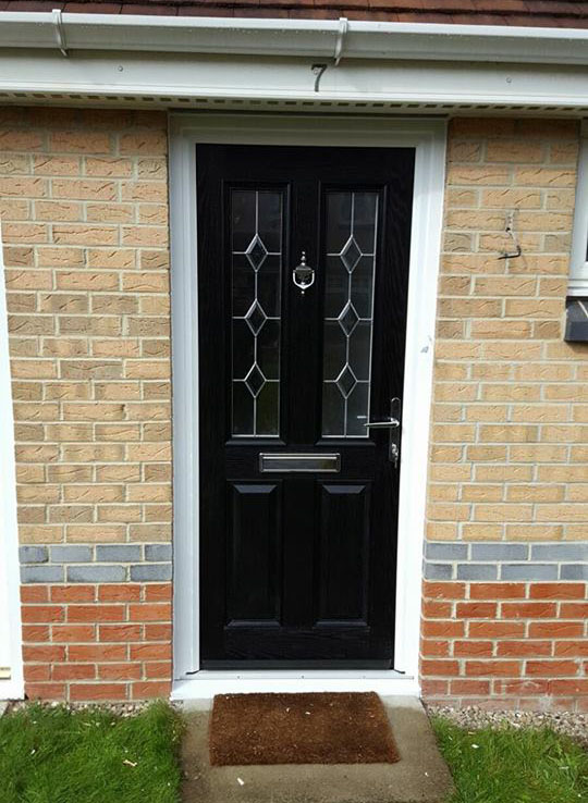 Composite door in north shields excel north east for Front door north tyneside