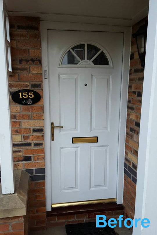 New front door in north shields excel north east for Front door north tyneside