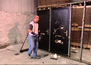 Door-destruction-test