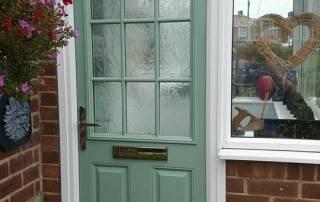 Two Composite Doors In Denton Burn Newcastle: Outside Door