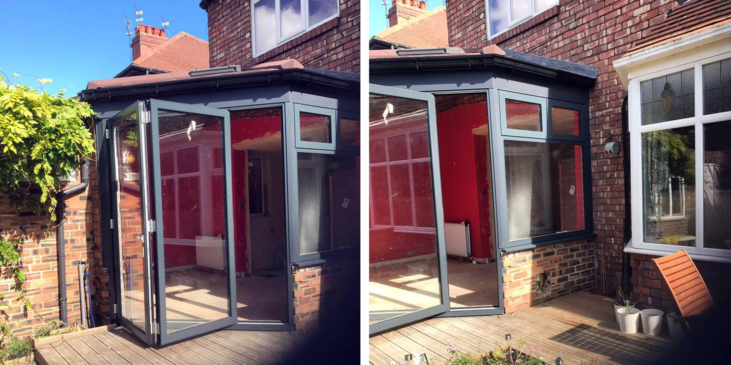 Warmcore aluminium doors excel north east for Front door north tyneside