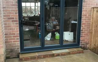 Synseal WarmCore Aluminium Bi-Fold Doors in Heaton Newcastle Upon Tyne