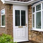 New Front Door Seaton Sluice Tyne & Wear