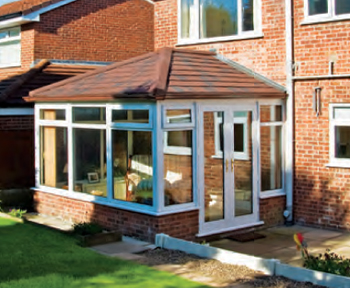 Edwardian style Warm Conservatory Roof Conversion (Guardian Warm Roof) in Newcastle Upon Tyne, Tyne & Wear.