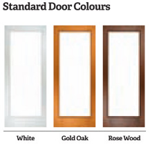 Tilt and Slide Patio Doors Colours available from Excel North East
