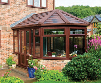 Victorian Style Conservatory Roof Conversion. Excel North east are approved installers of Guardian Warm Roofs.