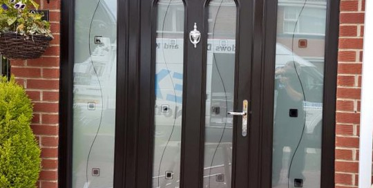New Front Door: Elegant Palladio-door in North Shields, Newcastle, Tyne & Wear