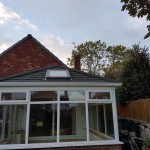 Conservatory warm roof in West Monkseaton, North Tyneside.
