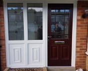 Palladio Door In Tynemouth fitted by Excel North-East