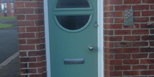 New Front Door In Blyth's Chatwell Green