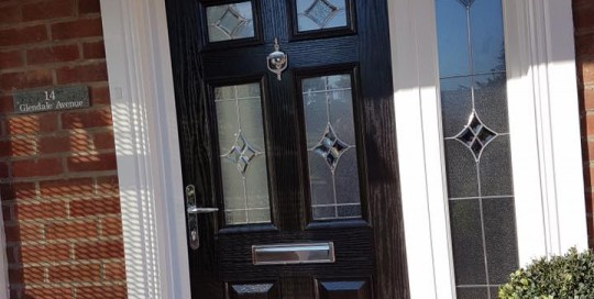 Composite Door in Blyth with matching side panelComposite Door in Blyth with matching side panel