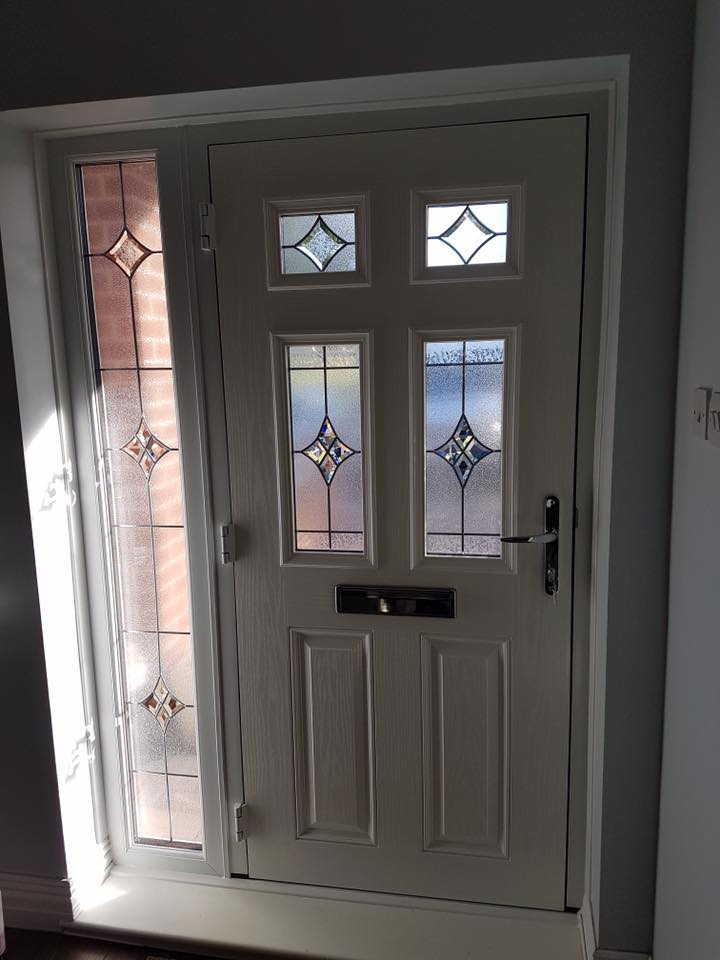 Composite Door In Blyth Glass Side Panel Excel North East