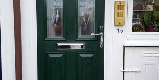 New Front Door In Monkseaton