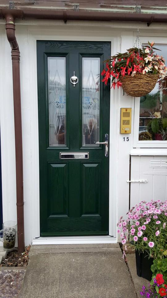 New Front Door In Monkseaton