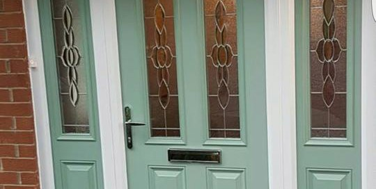 Composite Door in East Boldon, Tyne & Wear With Matching Side Panels