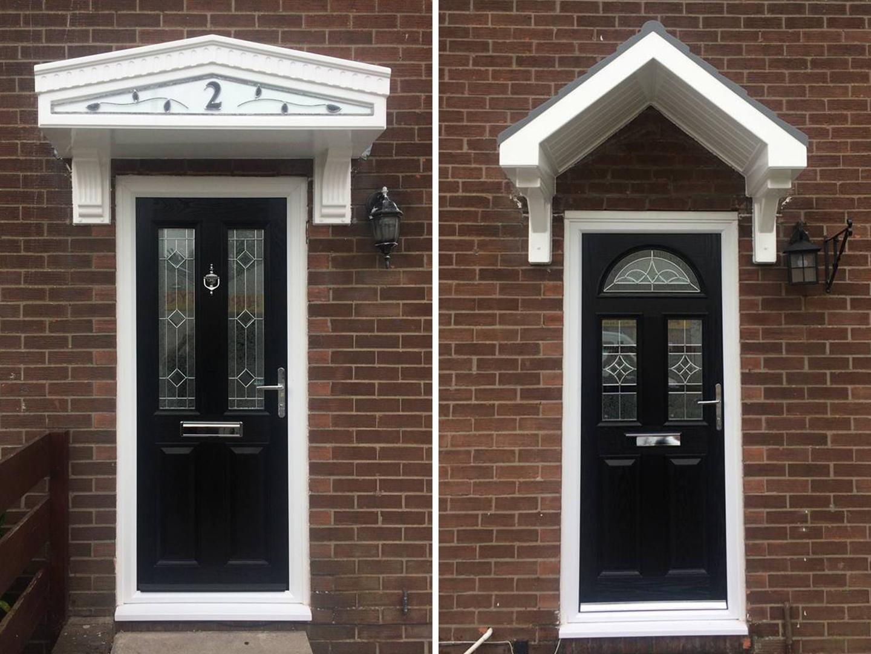 Two New Front Doors In Bedlington Northumberland