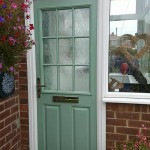 Two Composite Doors In Denton Burn Newcastle: Outside Door