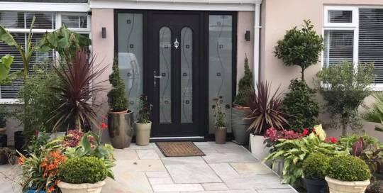 Palladio Door in Kenton, Newcastle Upon Tyne