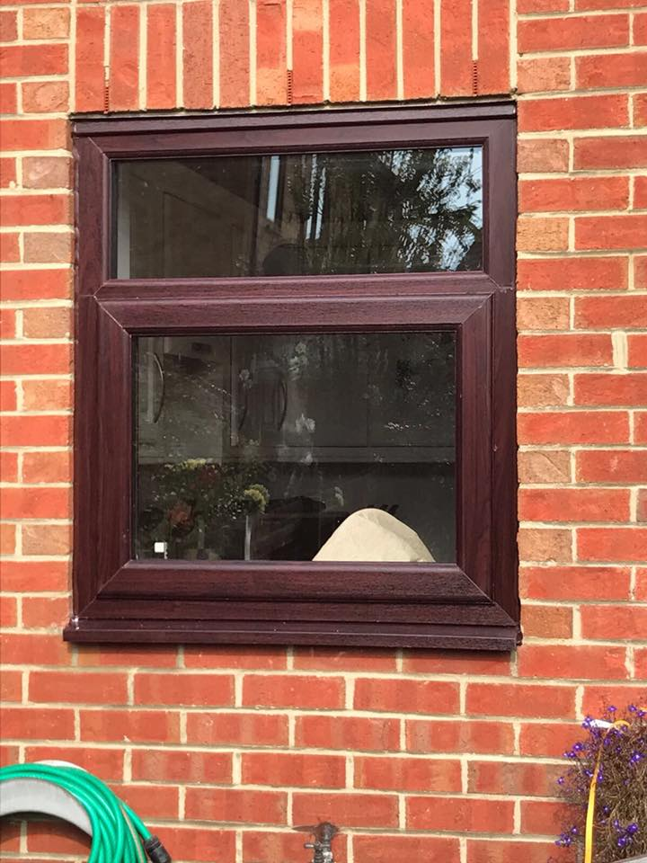stunning rosewood double-glazed windows in blyth northumberland