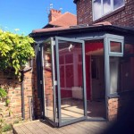 Warm Roof, WarmCore Aluminium Windows & Patio Bi-Fold Doors in Jesmond, Newcastle Upon Tyne