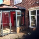Warm Roof, WarmCore Aluminium Windows & Patio Bi-Fold Doors in Jesmond, Tyne & Wear