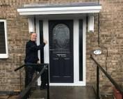 New Front Door in Newcastle Upon Tyne