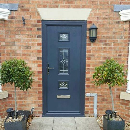 Case Study Modern Composite New Front Door In Tyne Wear