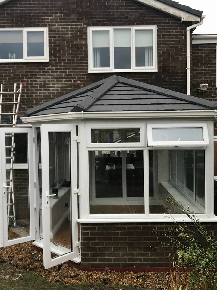 Conservatory Warm Roof In Cramlington, Northumberland