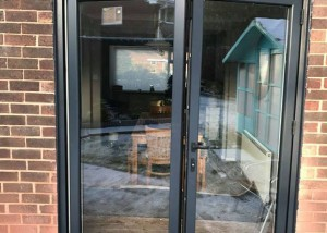 Brick Knockout, Move Radiator and Install WarmCore Aluminium Bi-fold Doors in Forest Hall