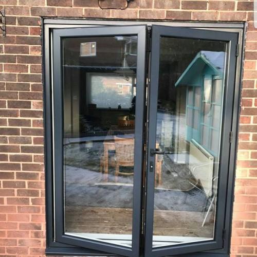 Brick Knockout, Move Radiator and Install WarmCore Aluminium Bi-fold Doors in Forest Hall