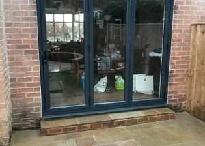 Synseal WarmCore Aluminium Bi-Fold Doors in Heaton Newcastle Upon Tyne