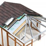Conservatory Warm Roof Installation Diagram