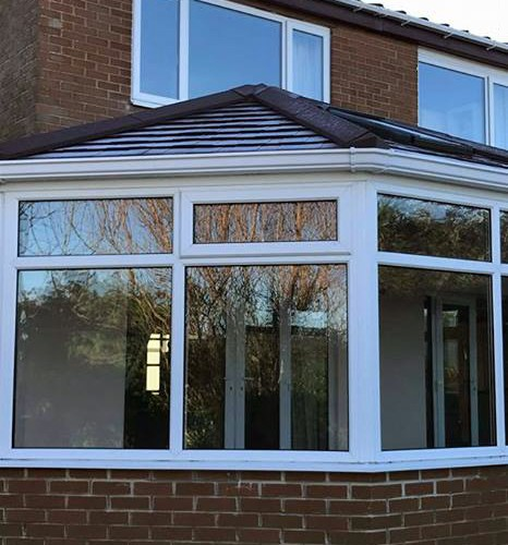 Irregular Conservatory Warm Roof in Whickham Tyne & Wear