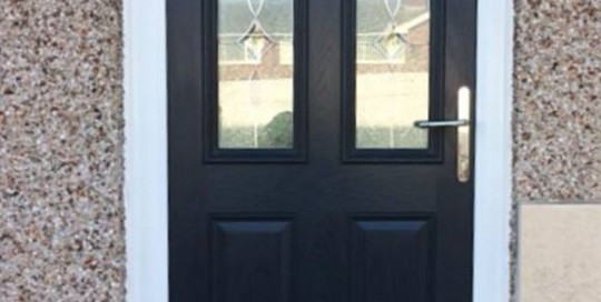 New Front Door In Seaton Delaval, Tyne & Wear