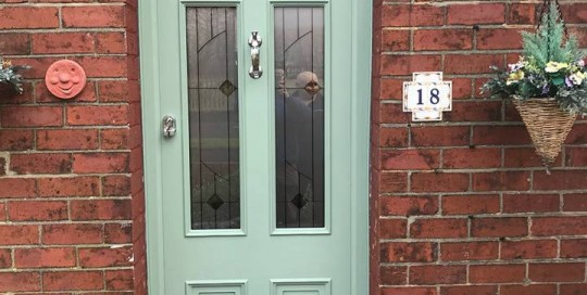 high End Palladio Door in Forest Hall, Newcastle Upon Tyne