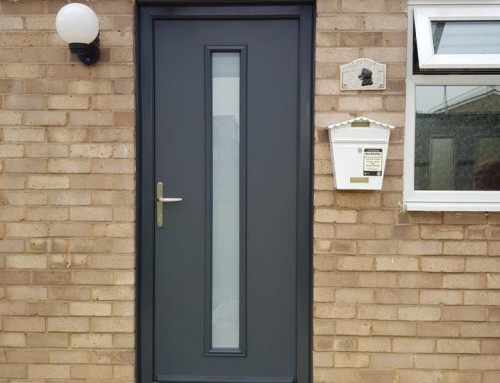Modern Composite Door in Cramlington