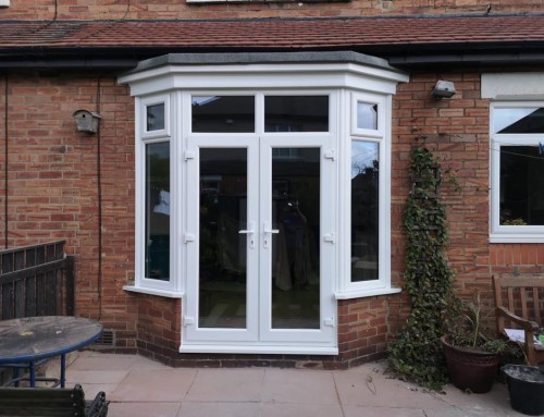 Brick-out & New Patio Door In Seaton Delaval