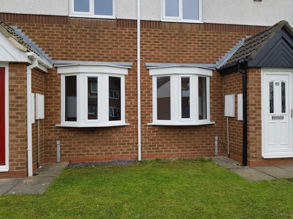 New Windows in Seaton Delaval, incliding next door too!