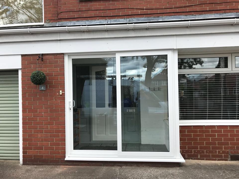 Sliding Patio Door In North Shields With Side Window Excel North East