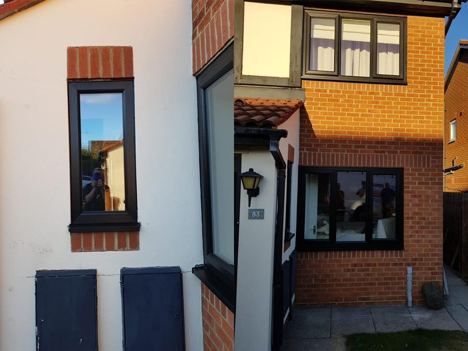 full house of windows compliments tudor timber effect in hadrians park, wallsend