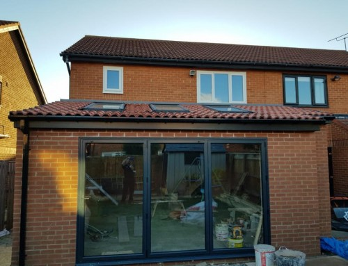 Full House of Windows & WarmCore Bi-fold Door in Wallsend