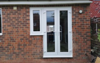 Brick out for Patio Door In Monkseaton - AFTER