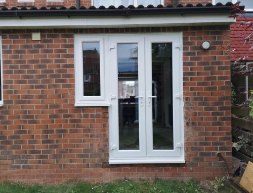 Brick-out & New Patio Door in Monkseaton