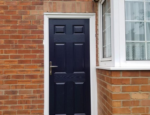 Solid Composite Door in Gateshead